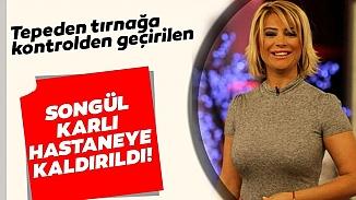 Şarkıcı Songül Karlı, apar topar hastaneye kaldırıldı