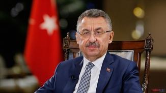 Cumhurbaşkanı Yardımcısı Oktay Sert Uyardı !  Sınırımızda asla terör devletinin oluşumuna izin vermeyeceğiz
