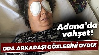 Şizofren hastası kadın oda arkadaşının gözlerini parmaklarıyla çıkardı