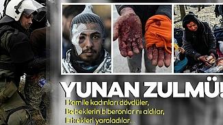 Suriyeli göçmen aile Yunanistan sınırında yaşadıklarını anlattı; Hepimizi dövdüler!