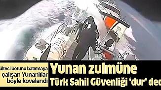 Türk kara sularından Yunan botunu kovalayan ekipten komutanına soru? Yeterli mi komutanım?