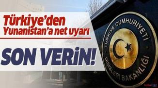Türkiye Yunanistan'ı sert uyardı! İhlallere ve gözaltılara son verin