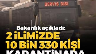 Umreden gelen 10 bin 330 kişi Ankara ve Konya'da karantinaya alındı