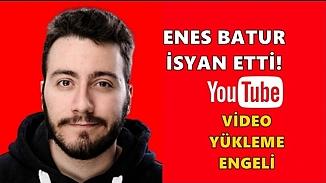 Ünlü youtuber'a yasak geldi!