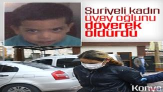 Vicdansız Suriyeli anne çocuğunu döverek öldürdü! Suçu korona virüse attı