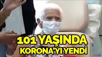 101 yaşındaki kadının korona'ya karşı zaferi