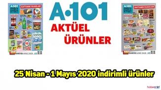 A101 Aktüel Ürünler Kataloğu Yayımlandı 27 Nisan - 1 Mayıs 2020 indirimli ürünler