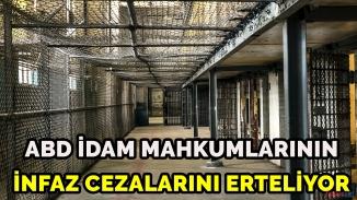 ABD'de idam mahkumlarının korona şansı! İnfazlar ertelendi