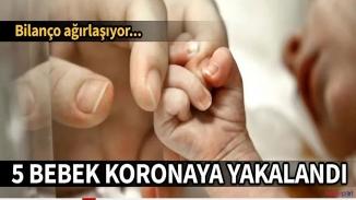 ABD'de koronavirüs vakaları bebeklere de sıçradı!