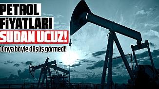 ABD'de ham petrol tarihindeki en düşük fiyatı gördü