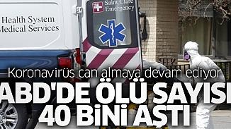ABD'de salgın bilançosu açıklandı; virüsten 40 bin 690 ölüm gerçekleşti