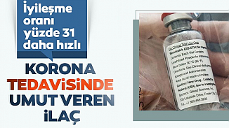 ABD, Kovid-19'u iyileştiren Remdesivir ilacını onaylıyor!