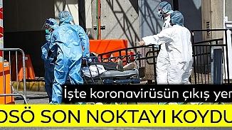 ABD'nin virüsün çıkışı iddialarına DSÖ yanıt verdi; Laboratuvar kanıtı yok