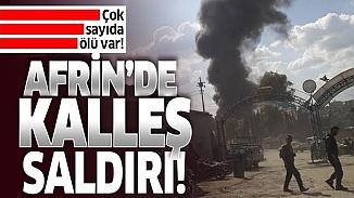 Afrin'de PKK katliam yaptı! 40 sivil hayatını kaybetti, çok sayıda yaralı var