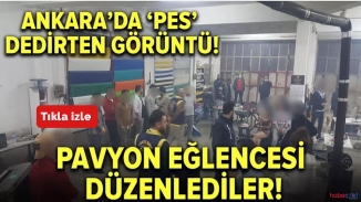 Ankara'da kaçak pavyon eğlencesi! Pes dedirttiler