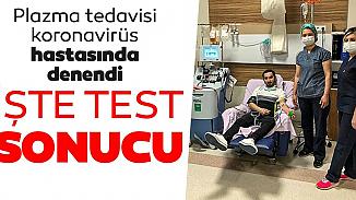 Antalya'dan sevindiren gelişme! Plazma tedavisinde sonuç negatif gösterdi