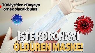 Antiviral özellikli kumaşla koronavirüsü öldüren maske üretiliyor