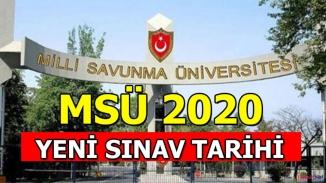 Askeri Öğrenci alımı yapılan  MSÜ sınavı ertelendi!