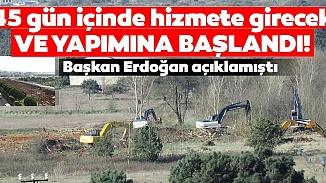 Atatürk ve Sancaktepe Havalimanlarına yapılacak hastaneler için ilk kepçe vuruldu