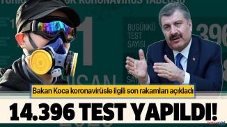 Bakan Koca il il korona virüs vakalarını açıkladı