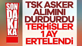 Bakan Akar, Kasım 2019 celp dönemi terhislerin ertelendiğini açıkladı