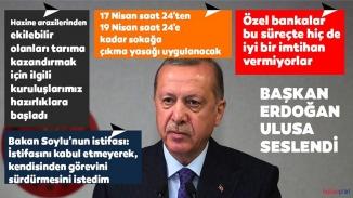 Cumhurbaşkanı Erdoğan toplantı sonrası açıklamalar da bulundu! Sokağa çıkma yasağı bu hafta sonu da uygulanacak