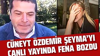 Cüneyt Özdemir, konuk aldığı Şeyma Subaşı'nı Ibiza cevabıyla şaşırttı