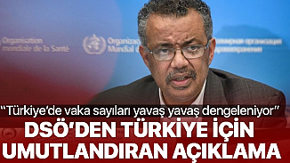 DSÖ'den Türkiye için sevindiren haber! Vaka sayıları dengelendi