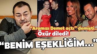 'Ebru ile aramı Demet bozdu' diyen Serdar Ortaç geri vites yaptı!