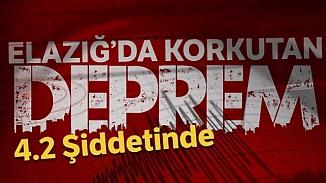 Elazığ'ın Sivrice ilçesi 4.2 şiddetinde sallandı!