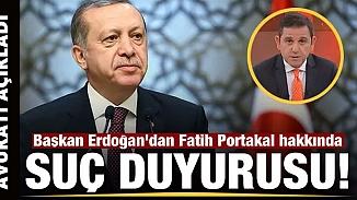 Fatih Portakal'dan olay paylaşım! Erdoğan ve BDDK suç duyurusunda bulundu