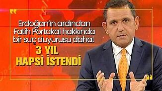 Fatih Portakal hakkında iddianame hazırlandı; 3 yıla kadar hapis istemiyle yargılanacak