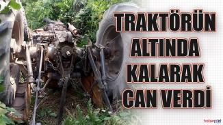 Sakarya'da feci traktör kazası!