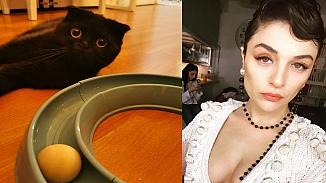Gonca Vuslateri kedisi için yapılan yorumlara sert çıktı; 'Utanıyorum'