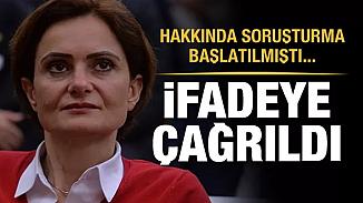 Hakkında soruşturma başlatılan Canan Kaftancıoğlu ifade vermesi için çağrıldı!