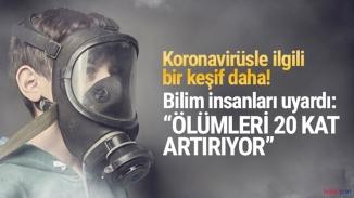 Hava kirliliği korona ölümlerini tetikliyor!