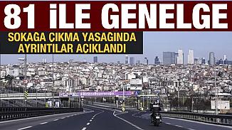 İçişleri Bakanlığı, 3 günlük sokağa çıkma yasağı genelgesini 81 ile gönderdi!