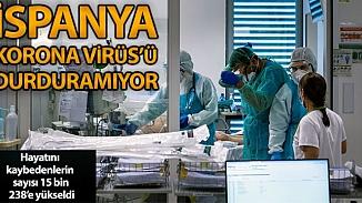 İspanya'da koronavirüs ölümleri sayısı 15 bin 238 olarak kaydedildi