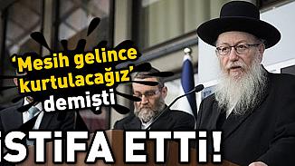 İsrail'in aşırı dinci Sağlık Bakanı Litzman istifa etti