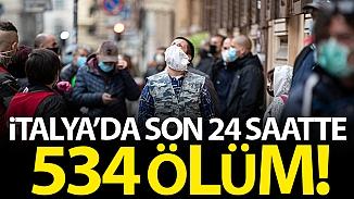 İtalya'da son 24 saatte koronavirüs kaynaklı can kaybı 24 bin 648'e yükseldi