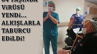 İzmir'de 84 yaşındaki bir hasta koronavirüsünü yendi
