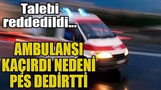 İzmir'de akıl almaz olay! Ambulansı kaçıran şahıstan ilginç savunma