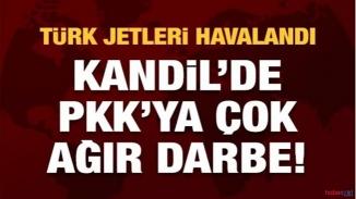 Kandil'de PKK'ya ağır kayıp! 18 terörist öldürüldü