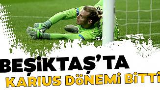Karius, Beşiktaş'la olan kontratını sonlandırdı
