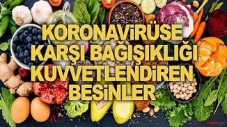 Korona'ya karşı bu besinler ile korunabilirsiniz
