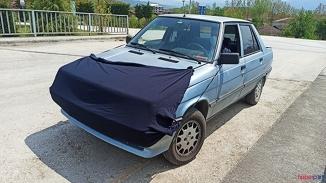 Korona'ya karşı hem kendini hem otomobilini böyle koruyor!