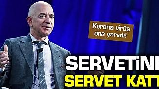 Koronavirüs Amazon hisselerine yaradı, Jeff Bezos servetine servet kattı