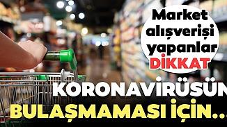 Koronavirüsü kargo ve market poşetlerinden bulaşır mı?