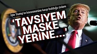 Maske takmaya zorlamayan Beyaz Saray'dan 'şal' tavsiyesi!