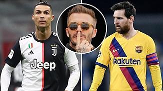 Messi'mi? Ronaldo'mu? tartışmasına Beckham'da dahil oldu
